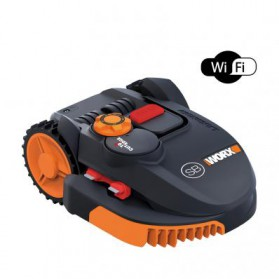 Kosiarka automatyczna Worx Landroid S500 Black Wi-Fi
