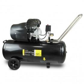 Kompresor olejowy 100l z napędem bezpośrednim, 2 cylindry
