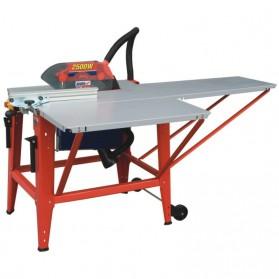 Pilarka stołowa 315mm - dwa dodatkowe stoły robocze