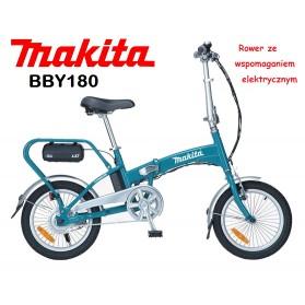 MAKITA BBY180 Składany Rower ze Wspomaganiem Elekt
