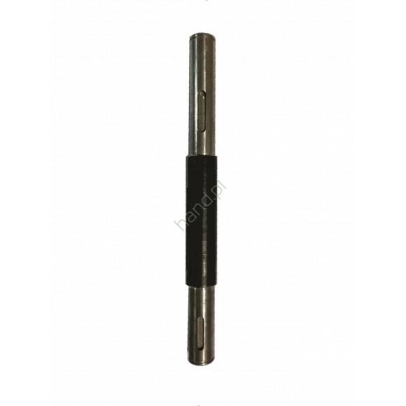 Wałek napędu bębna śr.20mm x dł.250mm, LIZA, AGATHA