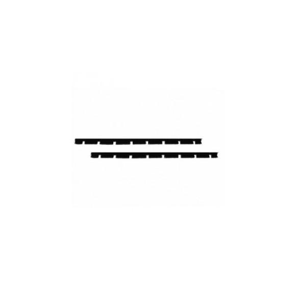 Wkłady STARMIX do ssawy 416519 guma kpl 2 szt, system 35 mm