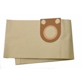Worki papierowe MEGATEC do Makita 25 l, Protool VCP 10 5 szt