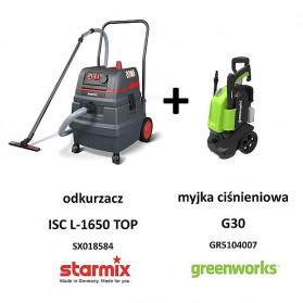 Odkurzacz STARMIX ISC L-1650 TOP zestaw z GR5104007