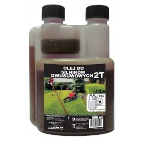Olej do silników 2 suwowych 0,5 l z dozownikiem ZIELONY
