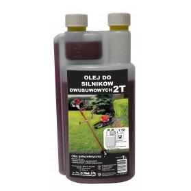 Olej do silników 2 suwowych 1 l z dozownikiem ZIELONY