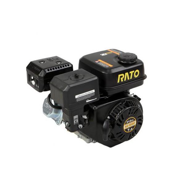 Silnik Rato R210 śr 20 mm wał poziomy walcowy