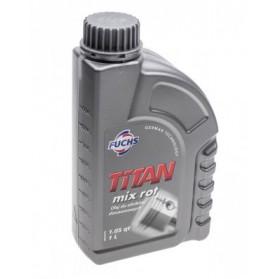 Olej 2T Titan Mix Fuchs 1l czerwony